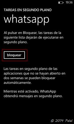 Imagen 6 - Windows Phone: tareas en segundo plano