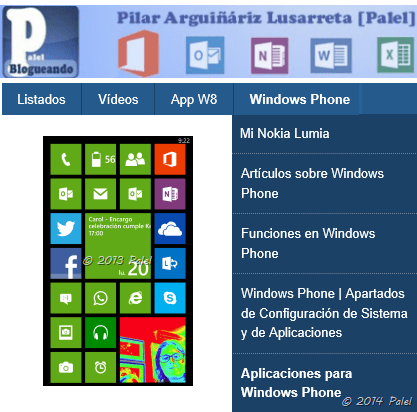 palel.es - Windows Phone
