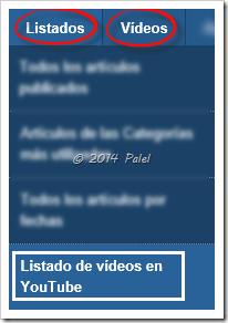 Listados - Palel.es