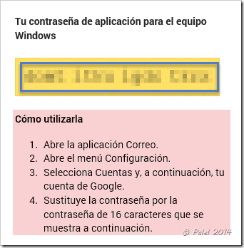 Error de sincronización de Gmail en Outlook