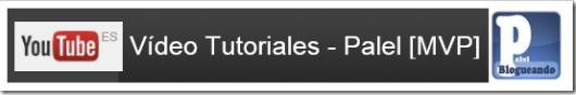 Canal de vídeo tutoriales - Palel.es
