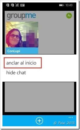 Salas y GroupME en Windows Phone - palel.es