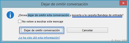 Capítulo B—13: Dejar de ignorar una conversación