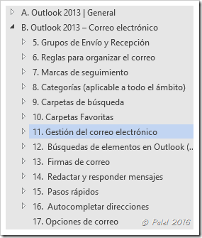Temario Curso de Outlook