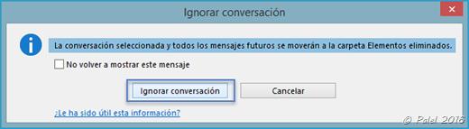 Capítulo B—12: Ignorar una conversación