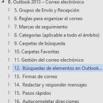 Curso de Outlook | Capítulo B Subcapítulo 12: Búsqueda de elementos en Outlook