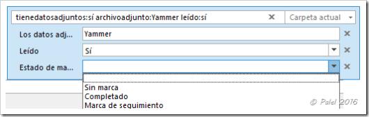 Búsquedas avanzadas en Outlook