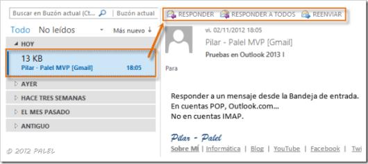 Bandeja de entrada - Outlook 2013 I