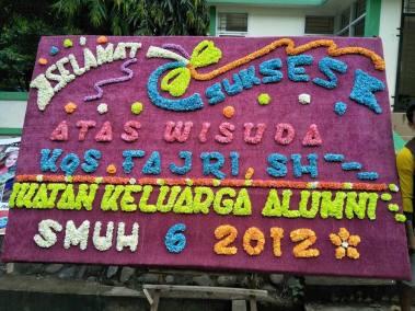 Bunga Ucapan Palembang 7