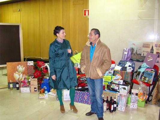 Ganadores de la cesta de Navidad