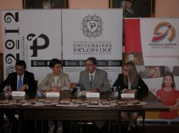 Ayuntamiento y palencia Abierta firman un convenio de colaboración por valor de 20.000 euros