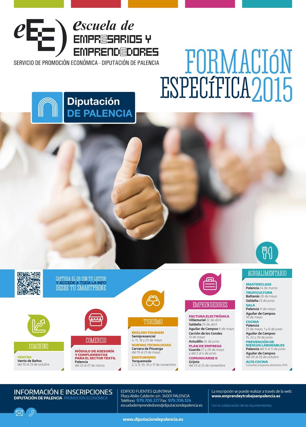 Escuela emprendedores Diputación Palencia
