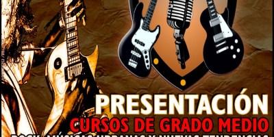 Presentación estudios superiores Rock, músicas urbanas y nuevas tendencias