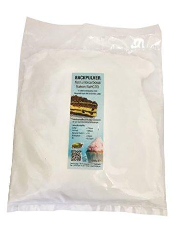 1kg Natron, Natriumhydrogencarbonat, beste Lebensmittelqualität, Backpulver E500 -