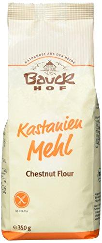 Bauckhof Kastanienmehl glutenfrei, 2er Pack (2 x 350 g) - Bio - 1