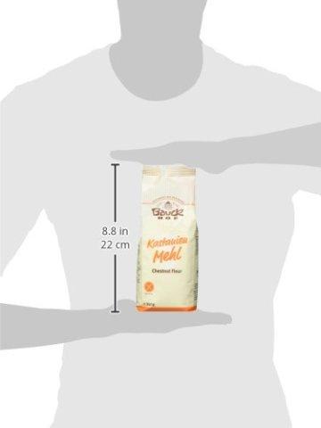 Bauckhof Kastanienmehl glutenfrei, 2er Pack (2 x 350 g) - Bio - 6