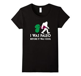 Bigfoot Beet Shirt, Paleo Before it was Cool Sasquatch Gift Damen, Größe M Schwarz - 1