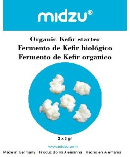 BIO Kefir Starter 2 x 3g / midzu - 1