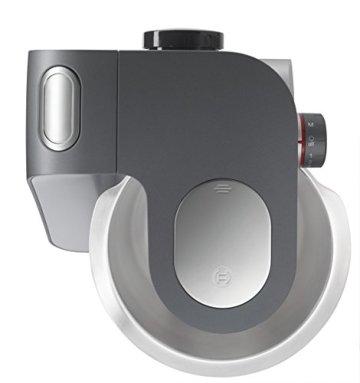 Bosch Styline MUM56340 Küchenmaschine (900 W, edelstahl-Rührschüssel, Durchlaufschnitzler, Rühr-Schlagbesen und weiteres Zubehör) silber - 4