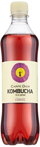 Carpe Diem Kombucha Classic, 12er Pack (12 x 500 ml) (ohne Pfand, Lieferung nur nach Österreich) - 1