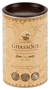 cosmundi Ghassoul Marokkanische Lavaerde 1 kg Mineralische Tonerde zur Haar-/Körperpflege und Gesichtsmaske/Peeling - 1