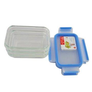 EMSA 514170 Frischhaltedose CLIP & CLOSE Glas 3er Set, 3x 0,50 Liter (100% dicht, gefriergeeignet, mikrowellengeeignet, BPA frei, Made in Germany) - 6