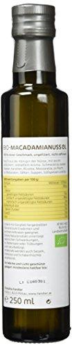Fandler Bio-Macadamianussöl, 1er Pack (1 x 250 ml) - 3