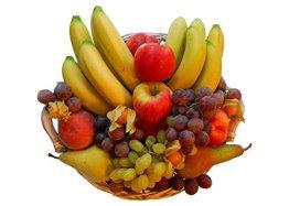 Fruchtknall Präsentkorb Fruchtmix - 1