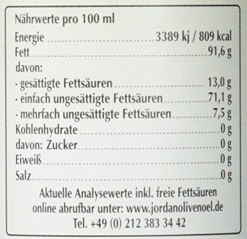 Jordan Olivenöl Natives BIO - extra - 0,50L Flasche, 1er Pack (1 x 500 ml) - 2