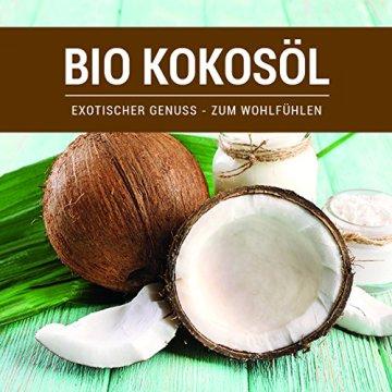 Kokosöl nativ Bio Qualität (1000ml) Hautpflege Haarpflege Kochen Braten Backen Fellpflege aus erster Kaltpressung - 3