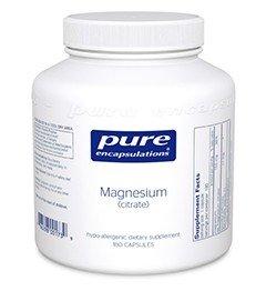 Magnesium (Citrat) 150mg 180 veg. Kapseln PEU - 1
