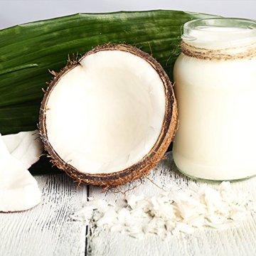 MeaVita Bio Kokosöl nativ aus erster Kaltpressung - Perfekt für Hautpflege Haarpflege und für die Küche 1L (1000ml) - 6