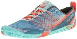 Merrell VAPOR GLOVE 2, Damen Outdoor Fitnessschuhe, Blau (SEA BLUE/CORAL), 42 EU - 1