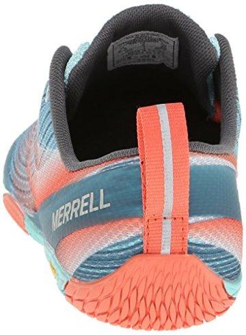 Merrell VAPOR GLOVE 2, Damen Outdoor Fitnessschuhe, Blau (SEA BLUE/CORAL), 42 EU - 2