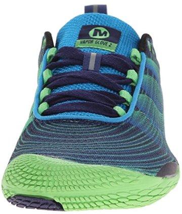 Merrell VAPOR GLOVE 2, Herren Outdoor Fitnessschuhe, Blau (RACER BLUE/BRIGHT GREEN), 50 EU - 4