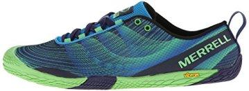 Merrell VAPOR GLOVE 2, Herren Outdoor Fitnessschuhe, Blau (RACER BLUE/BRIGHT GREEN), 50 EU - 5