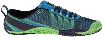 Merrell VAPOR GLOVE 2, Herren Outdoor Fitnessschuhe, Blau (RACER BLUE/BRIGHT GREEN), 50 EU - 7