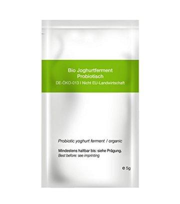 My.Yo Joghurt Probiotisch, Joghurtferment zur Joghurtherstellung, 3 Beutel, Bio-Zertifiziert - 3