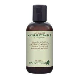 Naissance Natürliches Vitamin E Öl - Tocopherol 100ml 100% rein - 1