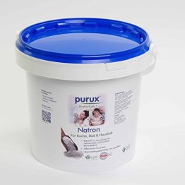 Natron 1 kg Natriumhydrogencarbonat NaHCO3 Natriumbicarbonat E500 ii Backsoda - 1