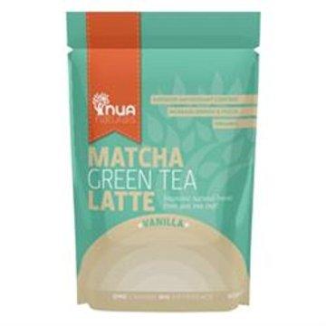 NUA Naturals – Matcha Green Tea Latte – Vanilla – 50g -