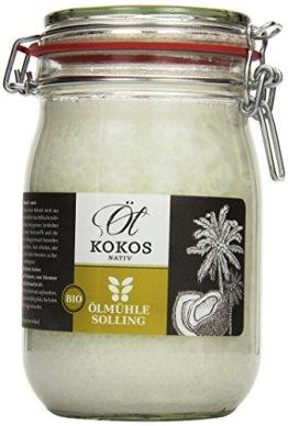 Ölmühle Solling Bio Kokosöl im Bügel-Glas 1000ml - 1