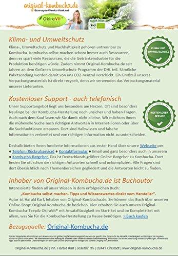 Original-Kombucha-Teepilz Premium Qualität + Bio-Kombucha-Getränk für 5 L, Anleitung + Anwuchsgarantie. Aus dem Heilbad Bad Kohlgrub. - 7