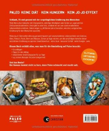 Paleo - Steinzeit Diät: ohne Hunger abnehmen, fit und schlank werden - Power for Life. 115 Rezepte aus der modernen Steinzeitküche mit Fleisch, Fisch & Gemüse. Glutenfrei & laktosefrei. - 2
