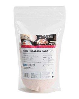 Pink Himalaya Salz, feine Körnung, 1 kg (Steinsalz / Kristallsalz aus Pakistan) - 1