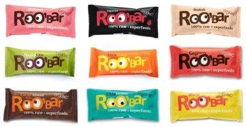ROO'BAR Rohkost Riegel mit Superfoods 30g x 9 Stück (bio, vegan, roh) Set alle 9 Sorten (9x30g) - 1
