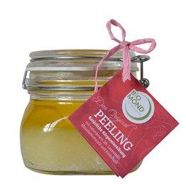 Salz Peeling Scrub / feinstes Kristallsalz von BIOMOND 500 ml / BIO Macadamia-Nussöl / BIO Lavendelöl / Naturkosmetik - 1