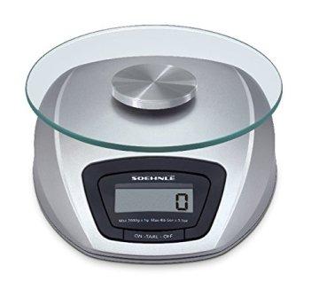 Soehnle 65840 Digitale Küchenwaage Siena silber - 3