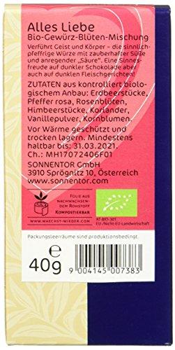 Sonnentor Alles Liebe Gewürz-Blüten-Mischung, 1er Pack (1 x 40 g) - Bio - 3