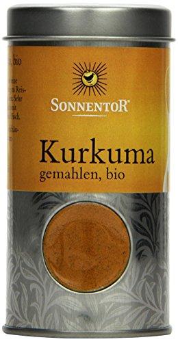 Sonnentor Kurkuma gemahlen Streudose, 1er Pack (1 x 40 g) - Bio - 1